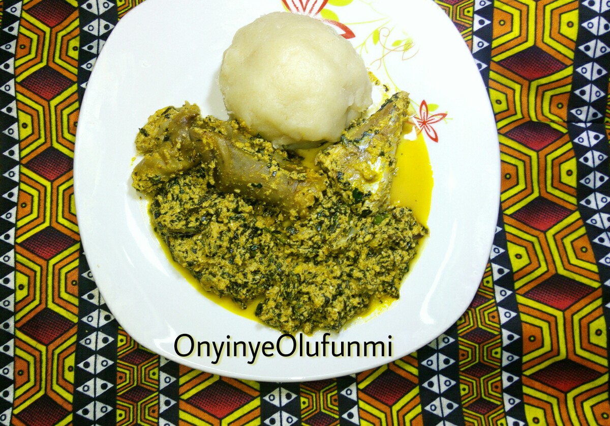 how to cook nigerian egusi soup with bitter leaf